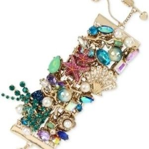 BETSEY JOHNSON Starfish Ocean Nautical Bracelet